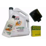 Aceite Multigrado Castrol 15w-40 Filtro Aceite Mann Vw Gol