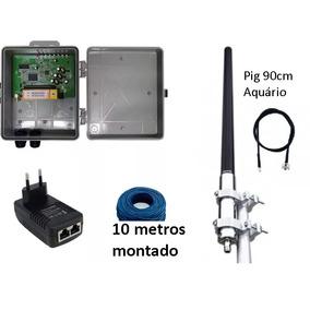 Kit Provedor 15 Dbi 1000mw Antena Omni 15+ Pcba Profissional