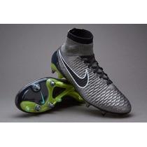 Chuteira Nike Magista Sg- Profissional Cano Alto Trava Ferro