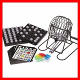 Set Juego Bingo Juego De Mesa Con Accesorios