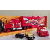 Camion Tractomula Mack Cars Rayo Mcqueen Control Remoto 45cm