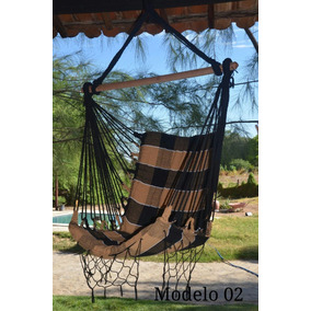 Kit 04 Rede Cadeira De Balanço Luxuosa E Resistente + Brinde
