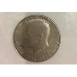 Moneda 50 Centavos Dollar Kennedy Bicentenar 1776-1976