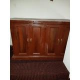 Mueble Auxiliar Madera Oficina Casa Puertas