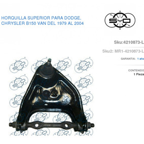 Horquilla Sup.izq Dodge Ram Van 79/04 4210873-l Syd