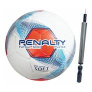 Bola Futsal Futebol Penalty Original Profissional + Inflador