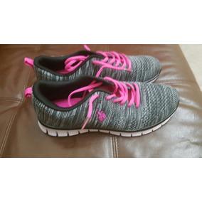Zapatillas Importadas U.s. Polo Assn (no Nike- adidas) Gris