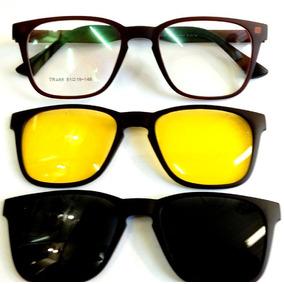 0dd5d6c46472f Armacoes Com Adicional Solar - Óculos no Mercado Livre Brasil