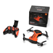 Mini Drone Camera Fpv Ao Vivo Dobrável Portatil Hc628 Wifi