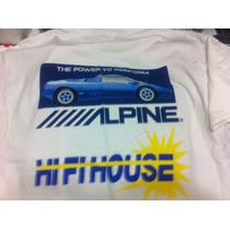 Alpine Amplificadores Car Audio & Security Playeras T-shirt
