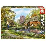 Puzzle Casas De Campo - 5000 Piezas Educa