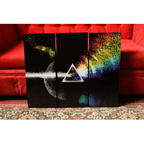 Resortes floyd vinilos decorativos en mercado libre for Dark side of the moon mural