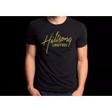 Camiseta Personalizada Hilsong United Camisa Rock Gospel