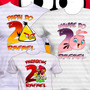 3x1 Kit Aniversário Camiseta Angry Birds Festa Frete Grátis