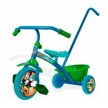 Triciclo Infantil Con Manija Chicos Nene Mickey Mouse