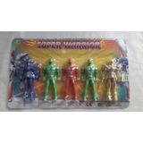 Muñecos Power Rangers X 5