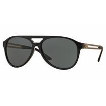 Lentes Versace Sol Hombre Ve4312 Gb1/71 Black Original