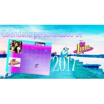 Calendario Soy Luna Varios Modelos Personalizados