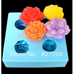 Molde De Silicon Para Hacer Flores 3d Rosa Flor Margarita