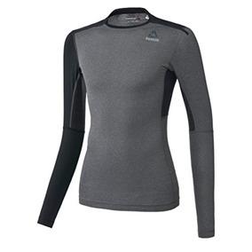 Camisa De Compresión Reebok Active Chill Blank Para Hombre,
