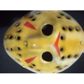 X1 Mascara Plastico Jason Viernes 13 Terror Jodas Fiestas