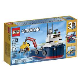 Lego Creator Ocean Explorer Science Toy 31045 3 Em 1!
