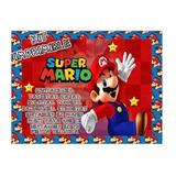 Kit Imprimible Mario Bros Editable