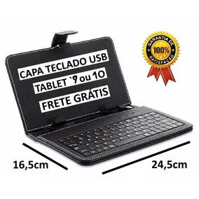 Capa Teclado Proteção Usb Tablet 9/10 Polegada Frete Grátis