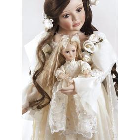 Boneca De Porcelana Annabella Paradise Galleries 70cm