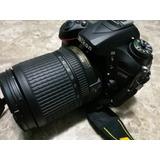 Camara Nikon D7200 (kit 18-140mm) Usada-impecable