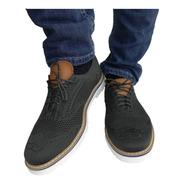 Zapatos Sneka Vestir Moda Hombre Gris Oxford 26-29 Profesor