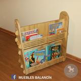Librero Movil Waldorf Montessori