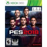 Pes 2018 Xbox 360 - Fisico