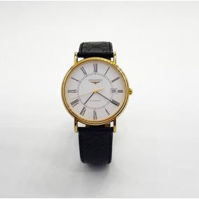Reloj Longines Presence Automatico Chapa De Oro Original