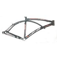 Quadro De Bicicleta De Aluminio Beach Caiçara Aro 26 Fib