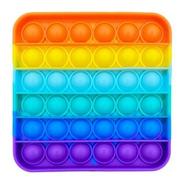 Pop It Fidget Toy Sensorial Quadrado Colorido Oferta