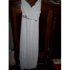 Vestido Festa Branco Casamento Noiva Debutante 15 Anos....