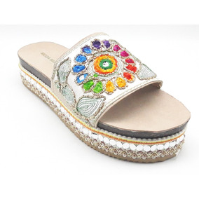 Sandalias Dama Huarache Calzado Zapato Casual Chancla My2333