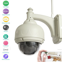 Camera Ip Dome Externa Sricam P2p Wifi Cctv 720p Hd Pan Tilt