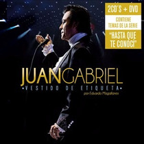 Vestido De Etiqueta - Juan Gabriel - 2 Cds + Dvd - Original
