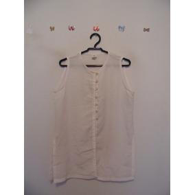 Blusa Feminina Branca Botoes Cód. 500