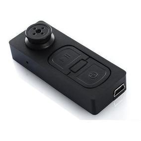 Botao Espiao Micro Camera Gravador Voz E Vídeo