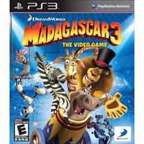 Ps3 Madagascar 3 The Videogame A Pronta Entrega