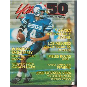 Lote De 8 Revistas De Yarda 50 Futbol Americano En Mexico 1a71da1b911