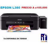 Epson L380 Impresora Sistema Continuo Suministros Fauca