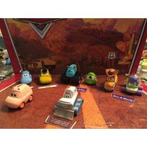 Disney Cars Mattel Buzz - Mike -flick -pig - Yeti 8 Carros