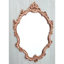 Espelho Decorativo Barrock Tok Stok Rose Gold
