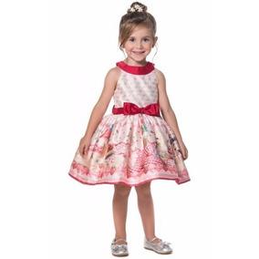 Vestido Petit Cherie Infantil Estampado 11.11.31278