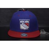 Boné 47 Brand New Nhl Ny Rangers Aba Reta Promoção Importado