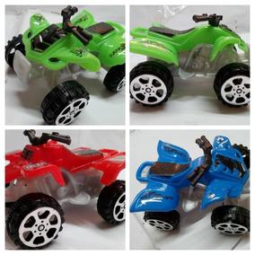 Moto Playera Juguete Mini 4 Rueda 6cm Motor De Fricción New